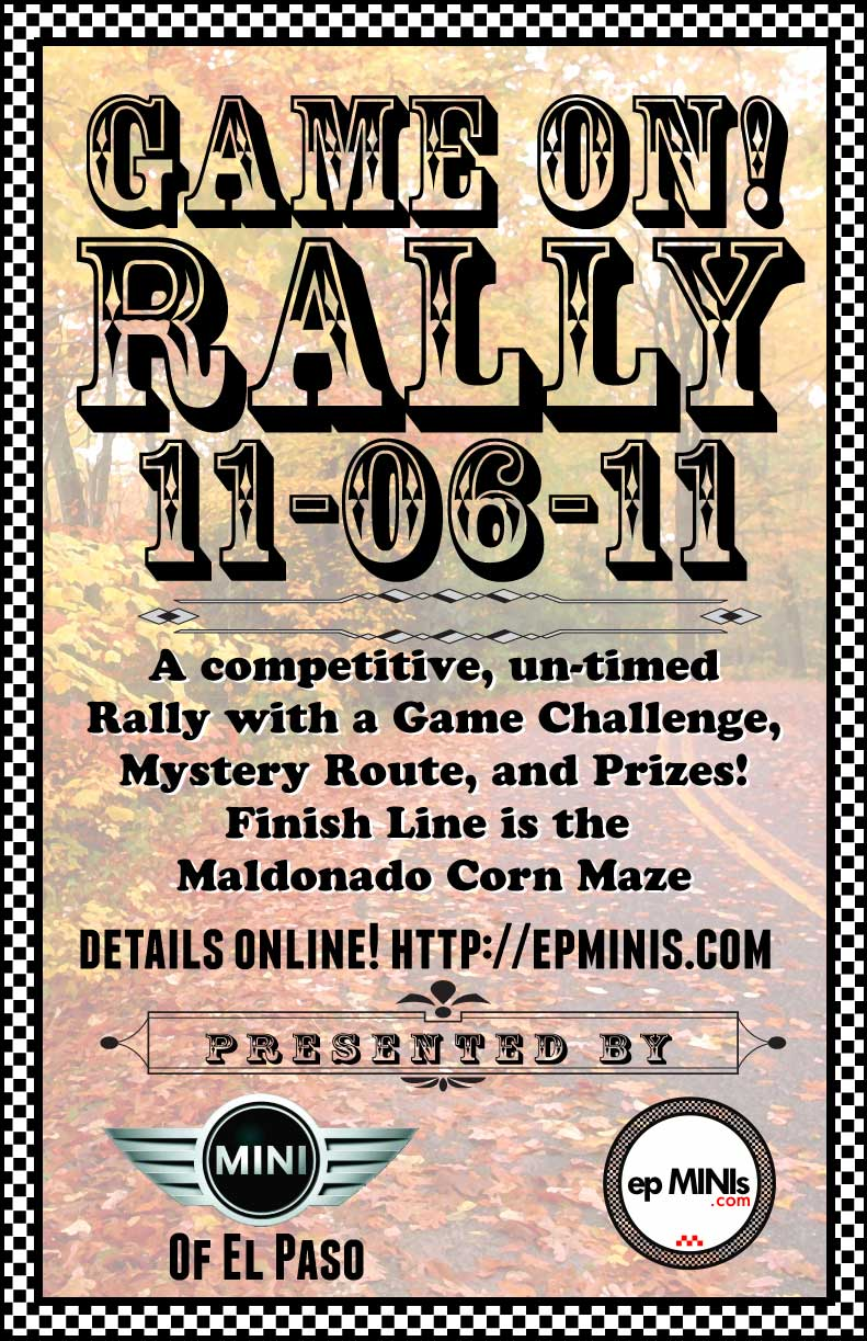 Rally Poster for 11/6/11