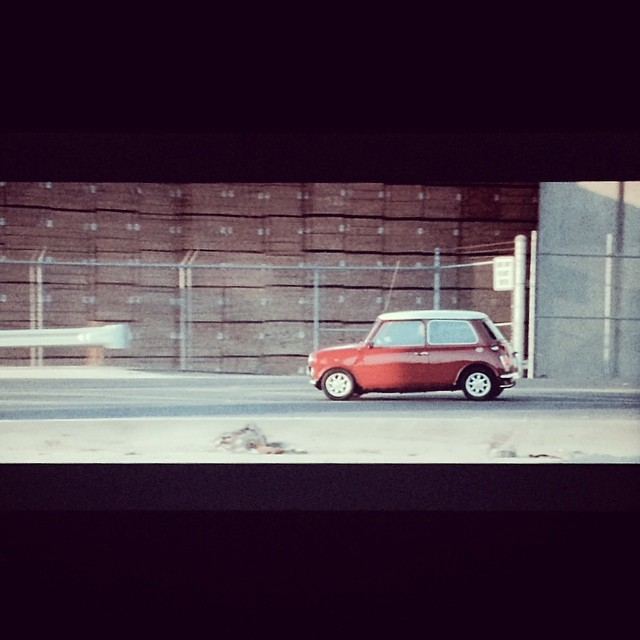 Watching one of my favorite movies #TheItalianJob #epminis 